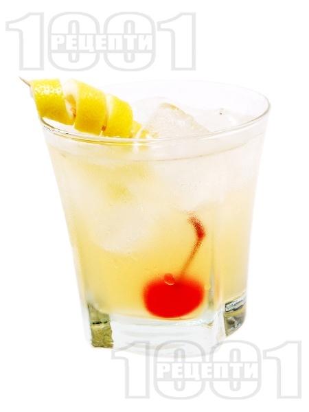 Коктейл Кисело Уиски (Whiskey Sour) - снимка на рецептата